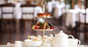 There is something thoroughly decadent about afternoon tea. Photograph: Getty Images
