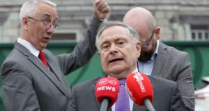 Labour leader Brendan Howlin said that Scouting Ireland would proceed with their normal camps this weekend, although the letter from Tusla recommended that the agency review the practice. Photograph: Laura Hutton/The Irish Times