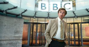 Steve Coogan as Alan Partridge: Dozens of presenters on commercial local radio stations  are to lose their jobs, with hundreds more at risk. Photograph: Andy Seymour/BBC/PA