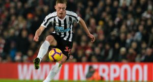 Sean Longstaff: has made a big impression in a short time with Newcastle United. Photograph:  Serena Taylor/Newcastle United via Getty Images)