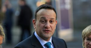 Taoiseach Leo Varadkar: politicians should bear in mind the extreme cost of tribunals and inquiries. Photograph: Gareth Chaney Collins