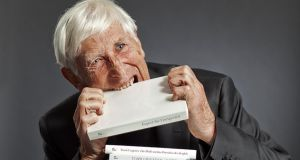 Throughout his life, Tomi Ungerer was involved in humanitarian causes from nuclear disarmament to Amnesty International to Reporters without Borders to European integration. Photograph: Gaëtan Bally (Keystone)/Diogenes Verlag