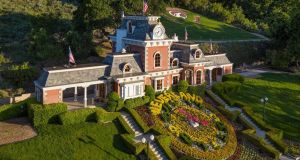 Neverland: the private train station at Michael Jackson's former ranch