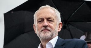 Brexit endgame: Jeremy Corbyn is backing a second referendum in part to stop more MPs leaving the UK Labour Party. Photograph: Jack Taylor/Getty