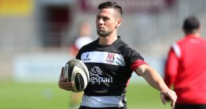 John Cooney will start at scrumhalf for Ulster on Sunday afternoon. Photograph: Matt Mackey/Inpho