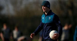 Joe Schmidt has confirmed Johnny Sexton is likely to be fit for Ireland's clash with France. Photograph: Tommy Dickosn/Inpho