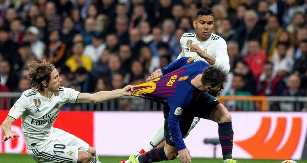 """c67558836 FC Barcelona s Lionel Messi reserves the """"first minutes"""" of each match for  interpretation"""