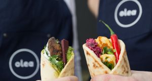 Olea brings a Middle Eastern flatbread concept to Eatyard