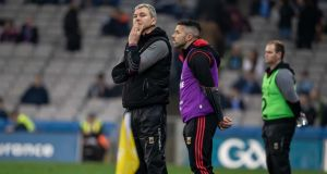 James Horan: the Mayo manager will be looking for a big improvement on last week's display against Dublin when his side  host Galway at McHale Park. Photograph: Morgan Treacy/Inpho