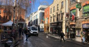A councillor said the situation in Temple Bar is becomming intolerable with walking tours.