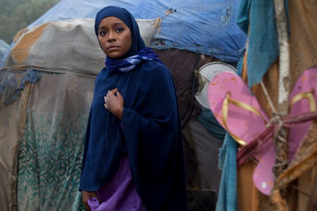 Ambitious: Aja Naomi King in A Girl from Mogadishu