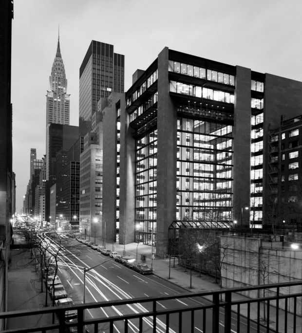 Kevin Roche: the late architect's Ford Foundation headquarters, in Manhattan. Photograph: Kevin Roche John Dinkeloo and Associates