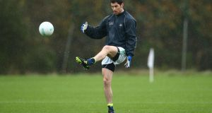 Rory O'Carroll during a training session at Carton House in 2015. Photograph: Cathal Noonan/Inpho