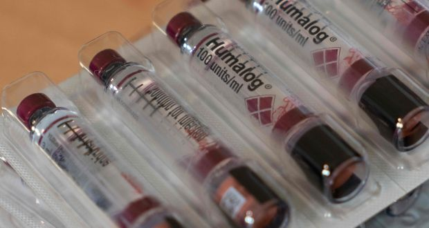 8e814dc11a0501 Eli Lilly's blockbuster insulin product Humalog. Photograph: AFP/Getty  Images