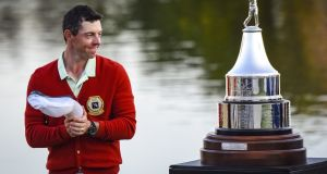 Rory McIlroy: returns to the scene of last year's triumph in the Arnold Palmer Invitational at Bay Hill Club in Orlando, Florida.  Photograph:  Keyur Khamar/PGA Tour