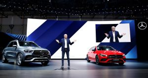 "Daimler AG and Mercedes Benz chairperson Dieter Zetsche: ""Our industry is changing. And we do some things different today to underline that."""