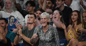 Judy Murray says her son Andy has recovered well from his hip surgery. Photograph: Getty Images