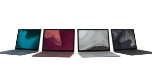 The Surface Laptop 2 is available in a range of colours, with burgundy, black, platinum and cobalt blue in the range but gold is no longer an option.