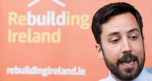 Minister for Housing Eoghan Murphy announced the Rebuliding Ireland Home Loan scheme in January of last year for people who had been turned down when applying for a mortgage. Photograph: Tom Honan/The Irish Times.