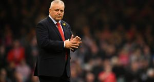 Wales head coach Warren Gatland  admits his players have been distracted by talks over the future of Welsh regional rugby. Photograph:   Dan Mullan/Getty Images