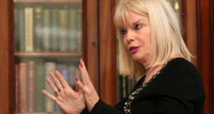 Minister for Higher Education Mary Mitchell O'Connor said the Cabinet has agreed to legal changes which will pave the way for the college to be awarded university status. Photograph: Laura Hutton/The Irish Times