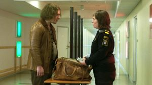 Eero Milonoff (left) as Vore and Eva Melander (right) as Tina in 'Border'
