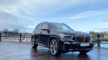 Our Test Drive: the BMW X5 M50d