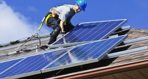 An Oireachtas committee has heard that current rules around citizens selling on renewable  energy that they have generated 'do not work'. Image: iStock/Getty Images.