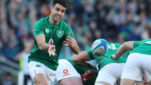 Conor Murray needs his box-kicking to click and to find under high balls. Photograph: Billy Stickland/Inpho