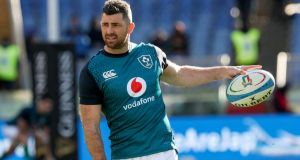 "Rob Kearney: ""We probably were a little bit broken after the English game but I think that's understandable and you'd expect that."" Photograph: Billy Stickland/Inpho"
