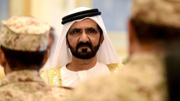 Escape attempt: Princess Latifa's father, Sheikh Mohammed bin Rashid al-Maktoum. Photograph: Fayez Nureldine/AFP