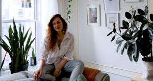 Irish knitwear designer Sinead Lawlor at her home in Brooklyn