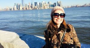 Fashion editor and writer Jackie Mallon from Co Tyrone in New York City