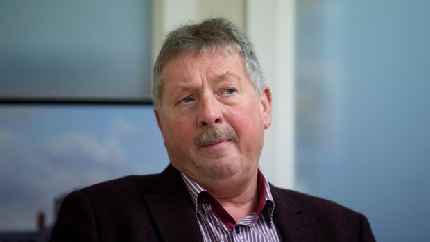 Democratic Unionist Party MP for East Antrim Sammy Wilson. Photograph: Liam McBurney/The Irish Times