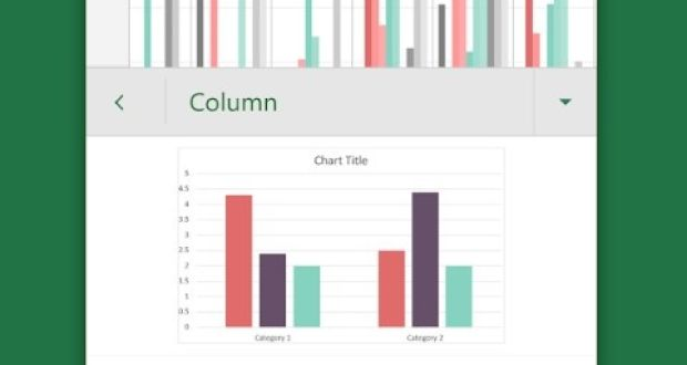 Microsoft Excel turns printed page into spreadsheet data