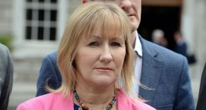 "Sinn Fein's Imelda Munster accused Shane Ross of being ""incompetent"" over controversial green card issue. Photograph: Cyril Byrne"