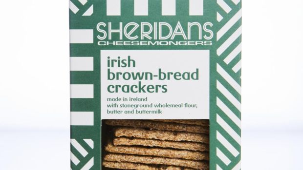 Sheridans brown bread crackers