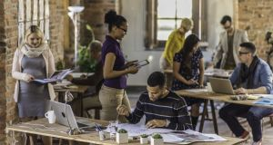 """The practical benefits of co-working spaces are significant. They can enable people to work closer to home, or to their region of responsibility and avoid high property prices and long commutes."" Photograph: iStock"