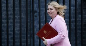 Northern   Secretary Karen Bradley made her  comments in the House of Commons   in advance of next week's decision by the North's Public Prosecution Service  as to whether any former British soldiers will be charged over the Bloody Sunday killings. Photograph:   Tolga Akmen/AFP/Getty Images