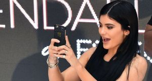 According to Forbes, Kylie Jenner has become the world's youngest self-made billionaire. Photograph: Julian Smith/EPA