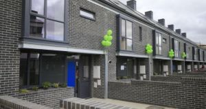Affordable housing built by housing co-operative Ó Cualann Cohousing Alliance last year. Dublin City Council is seeking   to build more than 370 affordable homes   in Ballymun and Ballyfermot