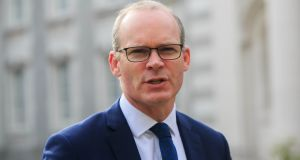 Tánaiste  Simon Coveney  said talks had not 'gone particularly well' between the EU and UK. Photograph: Gareth Chaney Collins