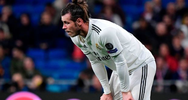 51d359aca Real Madrid s Gareth Bale watches on as his side crash out of the Champions  League against