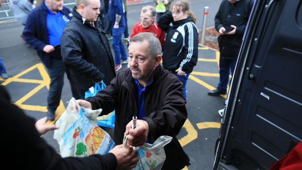 Football Fans Unite To Fight Poverty In Liverpool