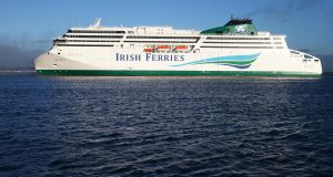 The late delivery of new Irish Ferries ship WB Yeats caused cancellations.Photo: Leon Farrell/Photocall Ireland.