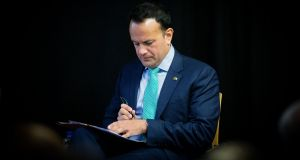 Leo Varadkar's popularity has fallen by eight points in the latest Irish Times poll. Photograph: Tom Honan/The Irish Times.