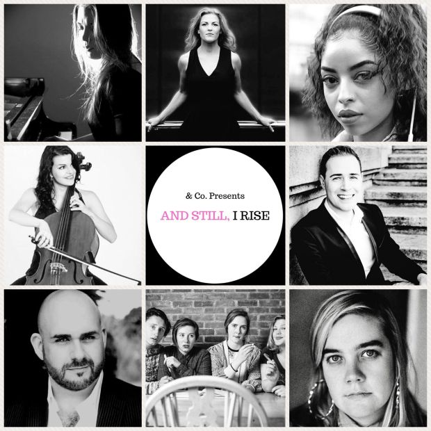 And Still, I Rise: Top Irish musicians and artists in female-led music and theatre celebrating those fighting for a more equal society, in the Pillar Room
