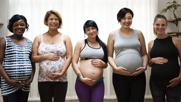 Offer your seat to a pregnant woman. Photograph: iStock