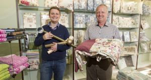 Chris and Ossie Wallace of   Bedwin Soft Furnishings. 'I would be extremely annoyed to see another referendum,' says Chris