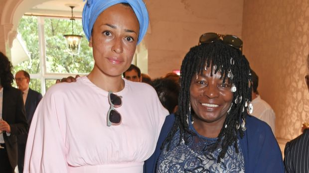 Works by Zadie Smith and her mother, Yvonne Bailey-Smith, are featured in the collection. Photograph: Dave Benett/Getty Images